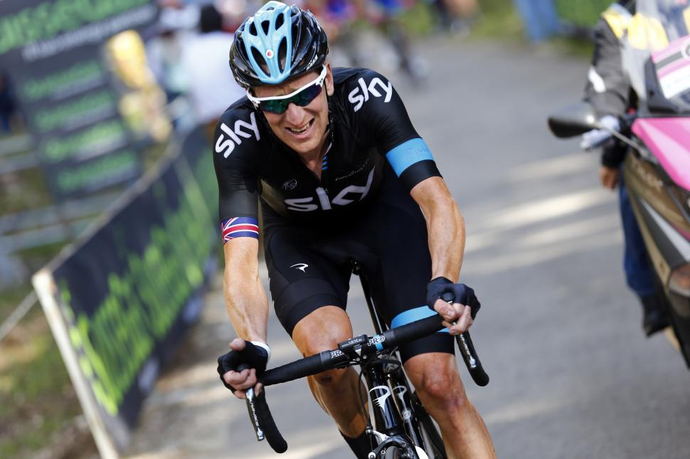Bradley Wiggins on Giro 2013 Stage 10 (Pool-Trovati-LaPresse)