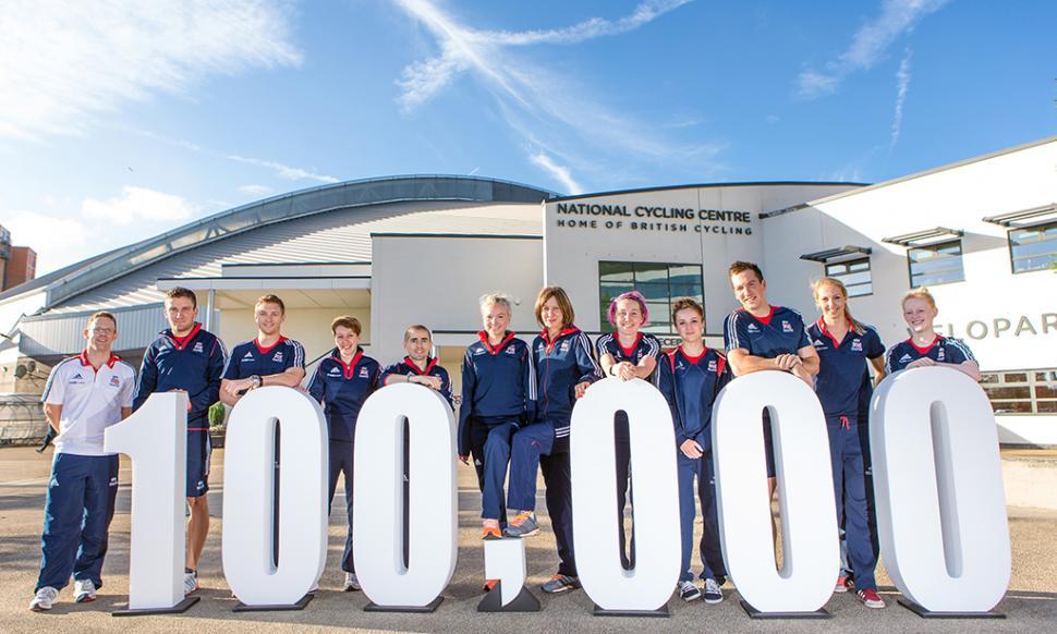British Cycling hits 100,000 members (©British Cycling)