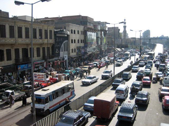 Traffic on Cairo street (image CC licensed via Flickr user Simona Scolari)