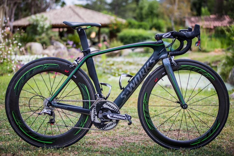 Cav's SRAM bike