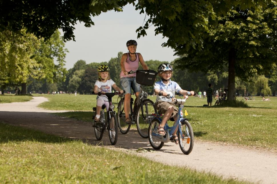 Children cycling - pic credit European Cyclists Federation