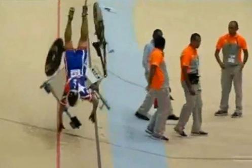 Chile Velodrome crash YouTube still