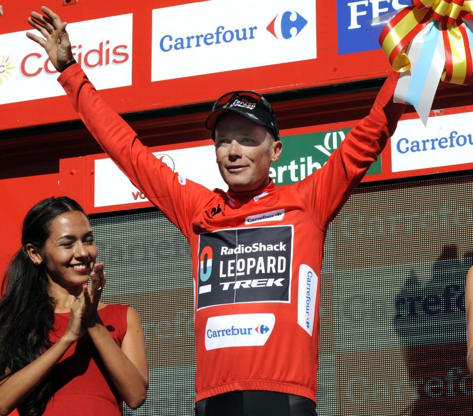 Chris Horner leads 2013 Vuelta after Stage 3 (Vuelta 2013 Unipublic:Graham Watson)