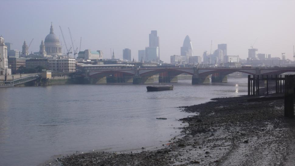 City of London from the Thames copyright Simon MacMichael .jpg