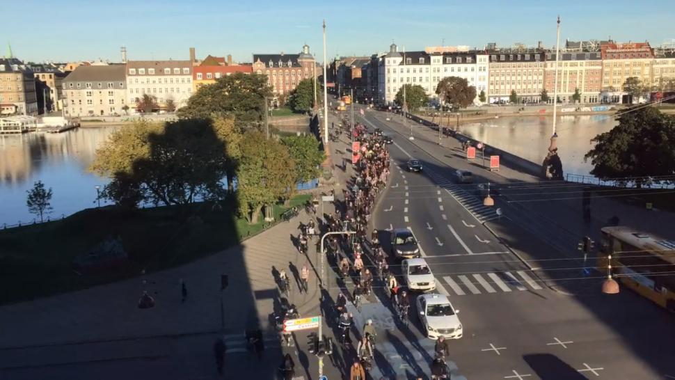 Copenhagen rush hour still from Morning Ebb and Flow.png