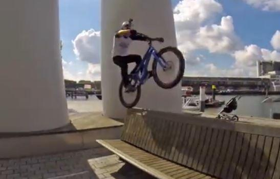 Danny MacAskill Rotterdam YouTube still