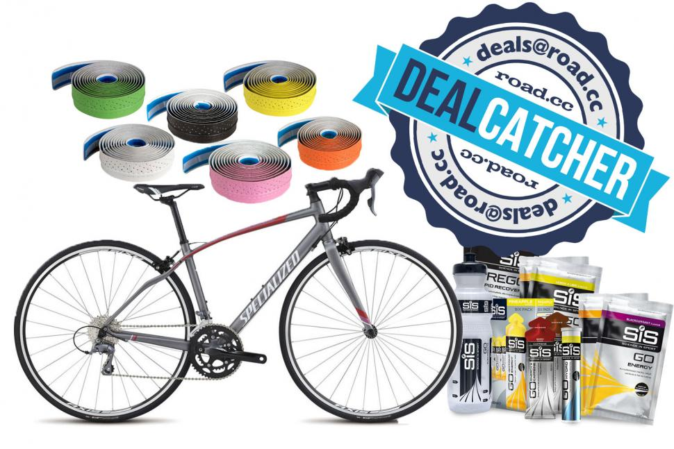 Great cycling deals on Raleigh and Specialized bikes + more