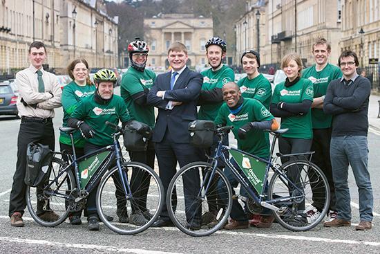 Docmail Local Post team in Bath (source- CFH)