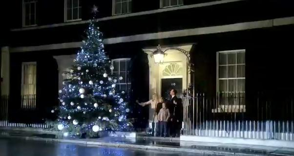 Remarkable Young Cyclist Helps Pm Switch On Number 10 Christmas Tree