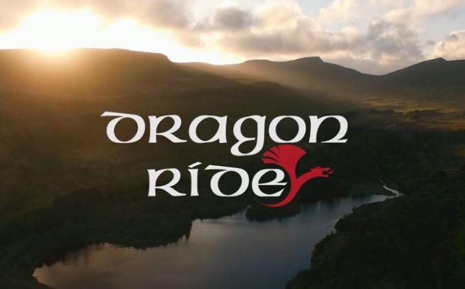 Dragon Ride logo (Human Race video still)