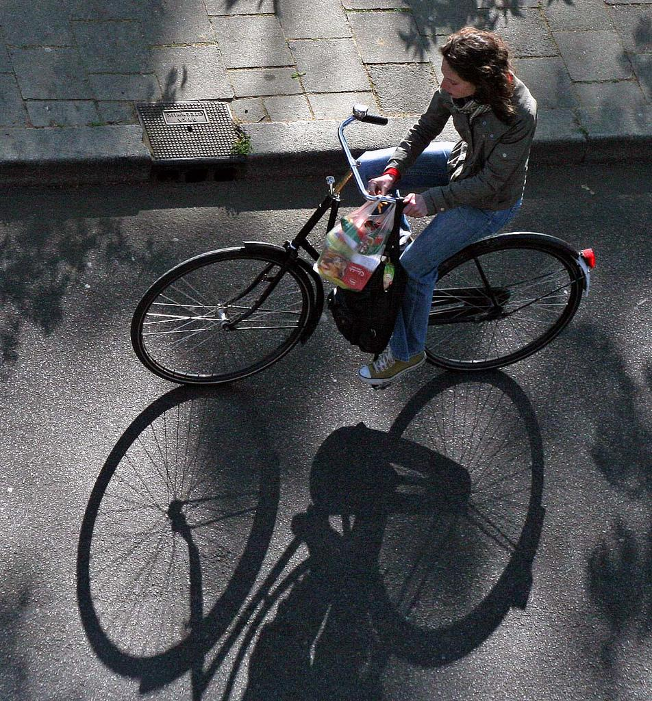 Dutch cyclist (© CC licenced by utrechtman:Flickr)