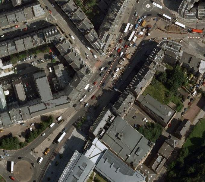 Edinburgh Picardy Place to Leith Walk (Google Maps)