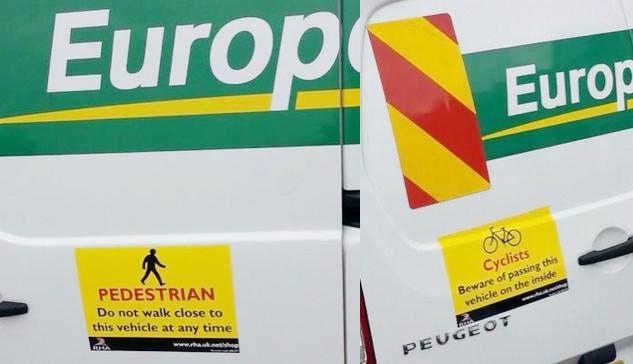 Europcar stickers