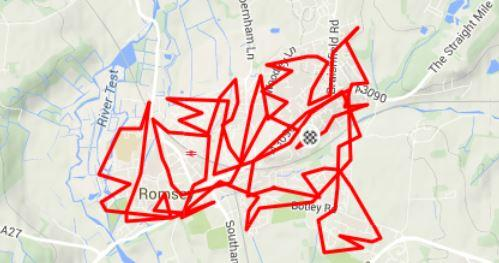 Every Street In Romsey Strava