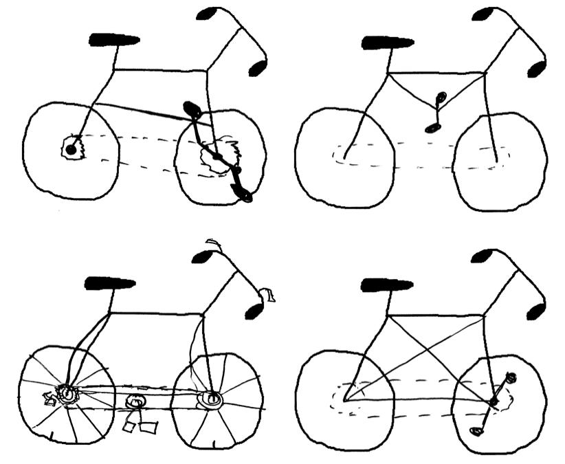 Four badly drawn bikes.png