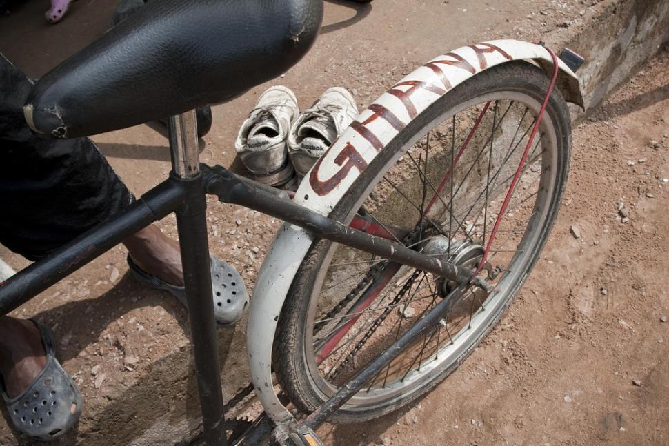Ghana bike (CC licensed by Jason Finch:Flickr)
