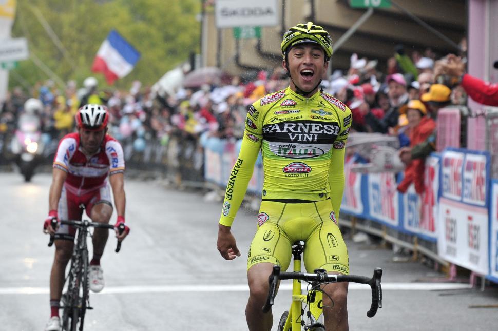 Giro 2012 S15 Rabottini wins (Gian Mattia D'Alberto - LaPresse - RCS Sport)