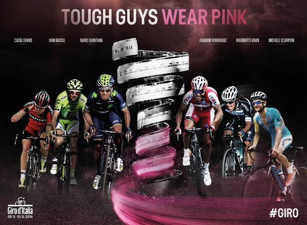 Giro 2014 Tough Guys Wear Pink