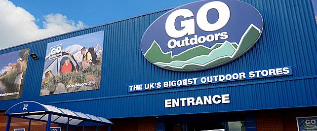 Go Outdoors store