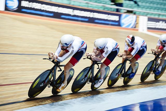 Great Britain's new cycling kit, July 2015 (copyright Britishcycling.org.uk)