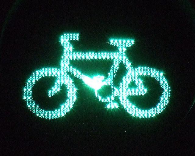 Green Cycle Traffic Light - James Cridland