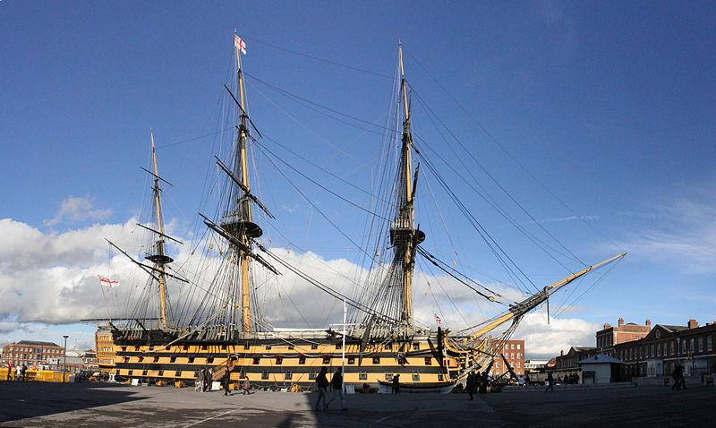 HMS Victory (public domain)