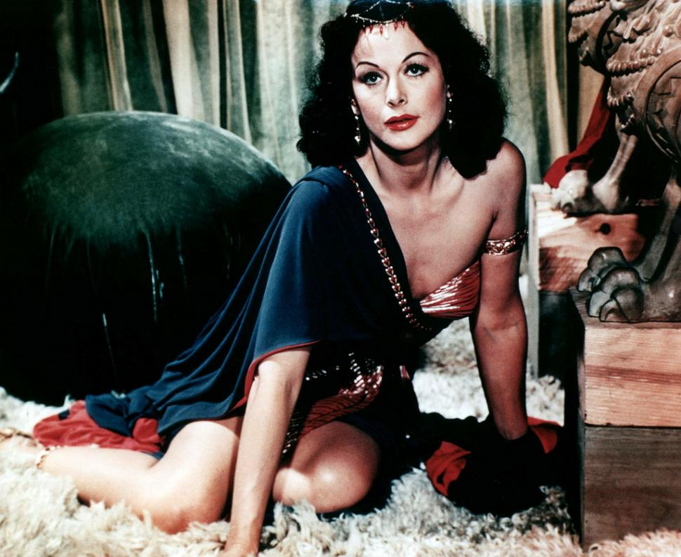 Spread-spectrum inventor Hedy Lamarr in Samson and Delilah. Because seriously, how many photgraphs of derailleurs do you really need to look at? (CC licensed image by Retrogasm:Flickr)