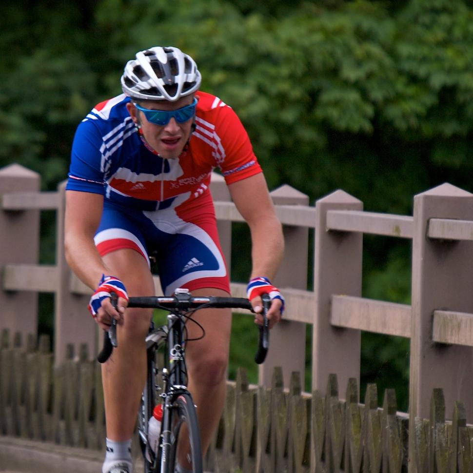 Ian Stanard on Stage 2 of the 2008 Tour of Britain © Simon MacMichael
