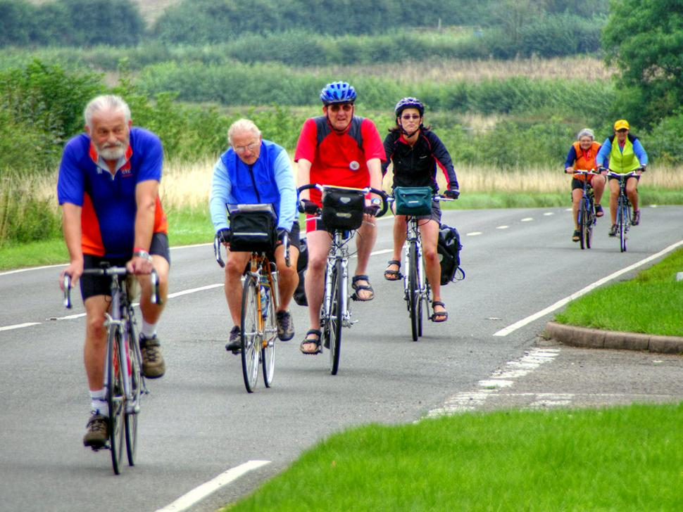 Keep riding to stave off aging (CC BY-NC-SA 2.0 by Chris Juden:Flickr)