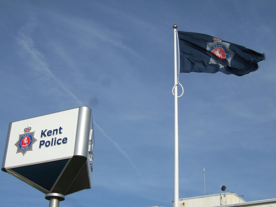 Kent Police (CC-BY 2.0 licensed by Ben Sutherland:Flickr)