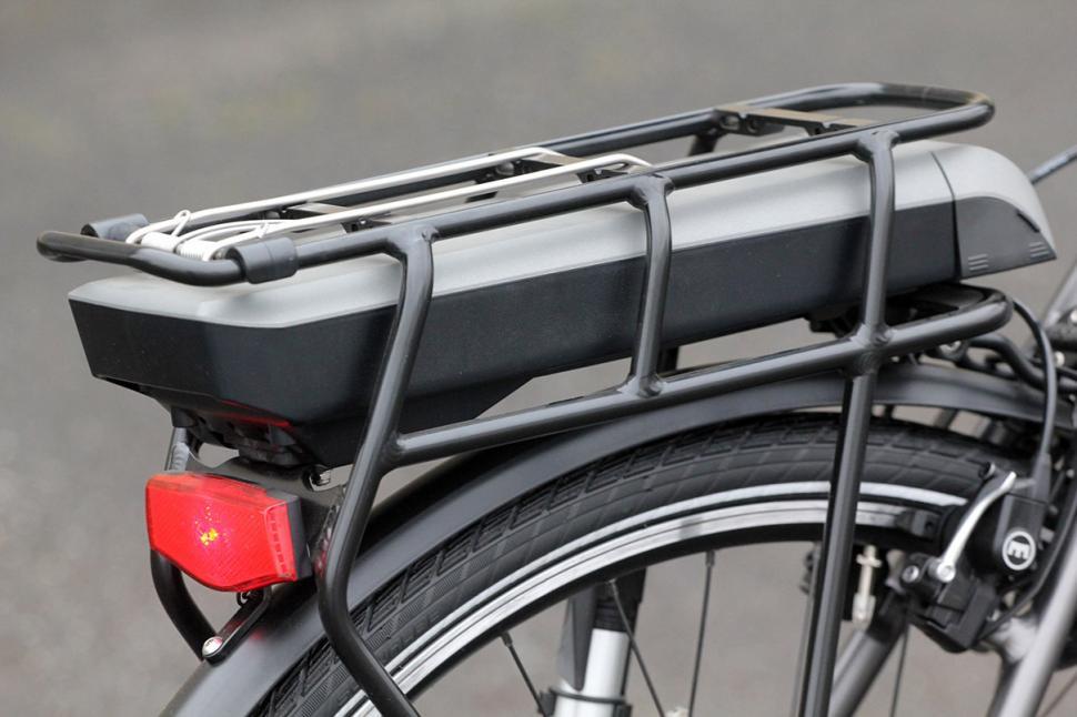 Koga E-Nova RT Electric Bike - battery and rack