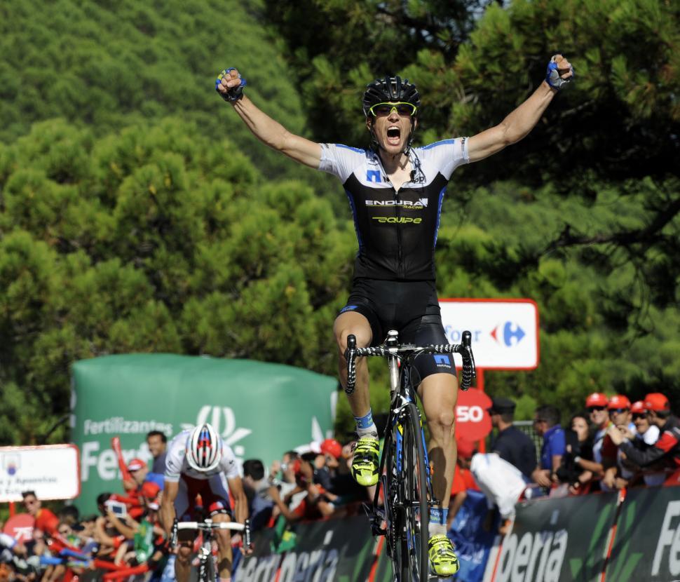 Leopold Konig wins 2013 Vuelta Stage 8 (© Unipublic:Graham Watson)
