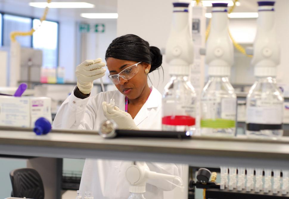London 2012 anti-doping lab (picture credit LOCOG)