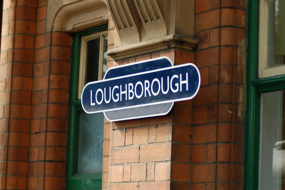 Loughborough sign (CC licensed by mattingham:Flickr)