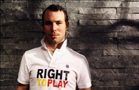 Mark Cavendish Right To Play (picture credit- Bryn Lennon:Getty)