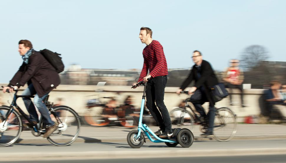 Could this Kickstarter project from Copenhagen be a rival to the bicycle?