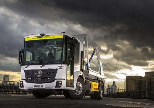 Mercedes Econic lorry