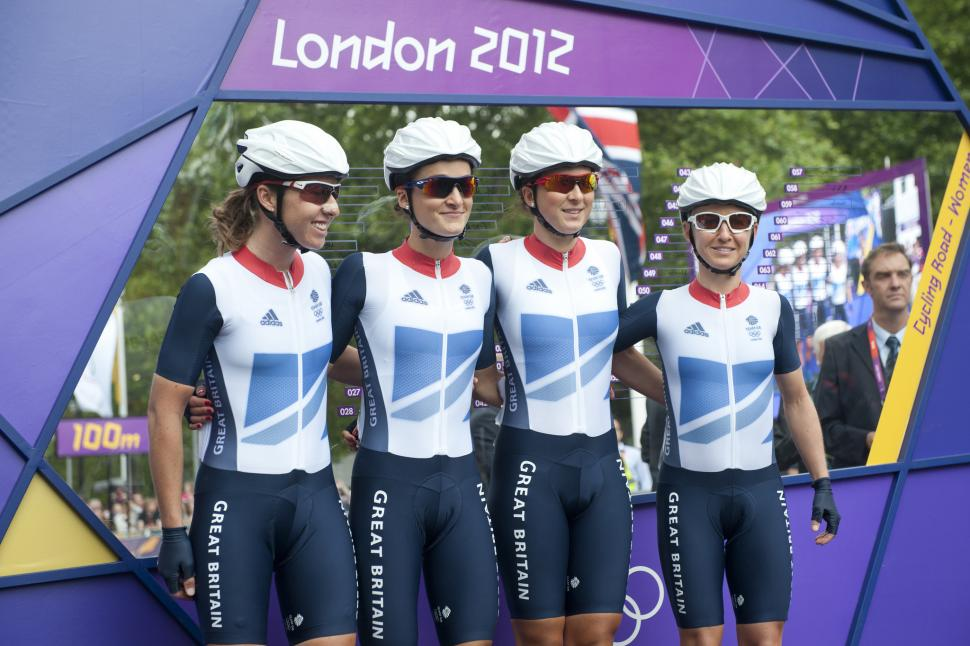 Nicole Cooke, Lizzie Armitstead, Lucy Martin, Emma Pooley (copyright britishcycling.co.uk)