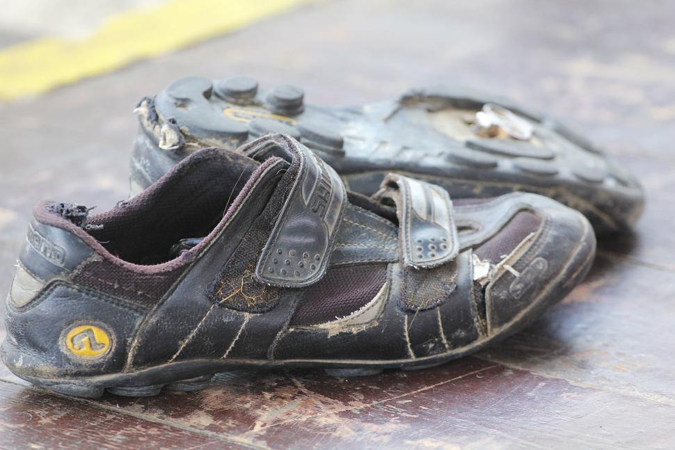 Old Shimano shoes