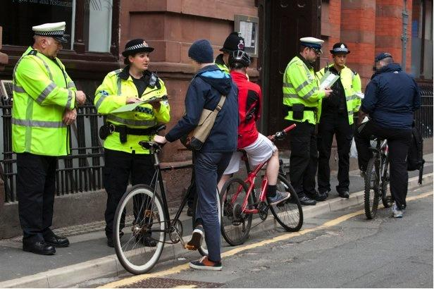 Operation Grimaldi (picture Greater Manchester Police)