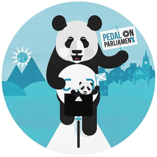 Pedal on Parliament 2 logo