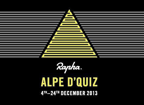 Rapha Alpe d'Quiz