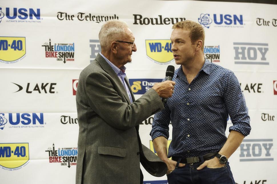 Revolution 2013 round 2 - Sir Chris Hoy talks to Hugh Porter