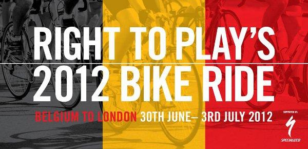 Right To Play 2012 Bike Ride