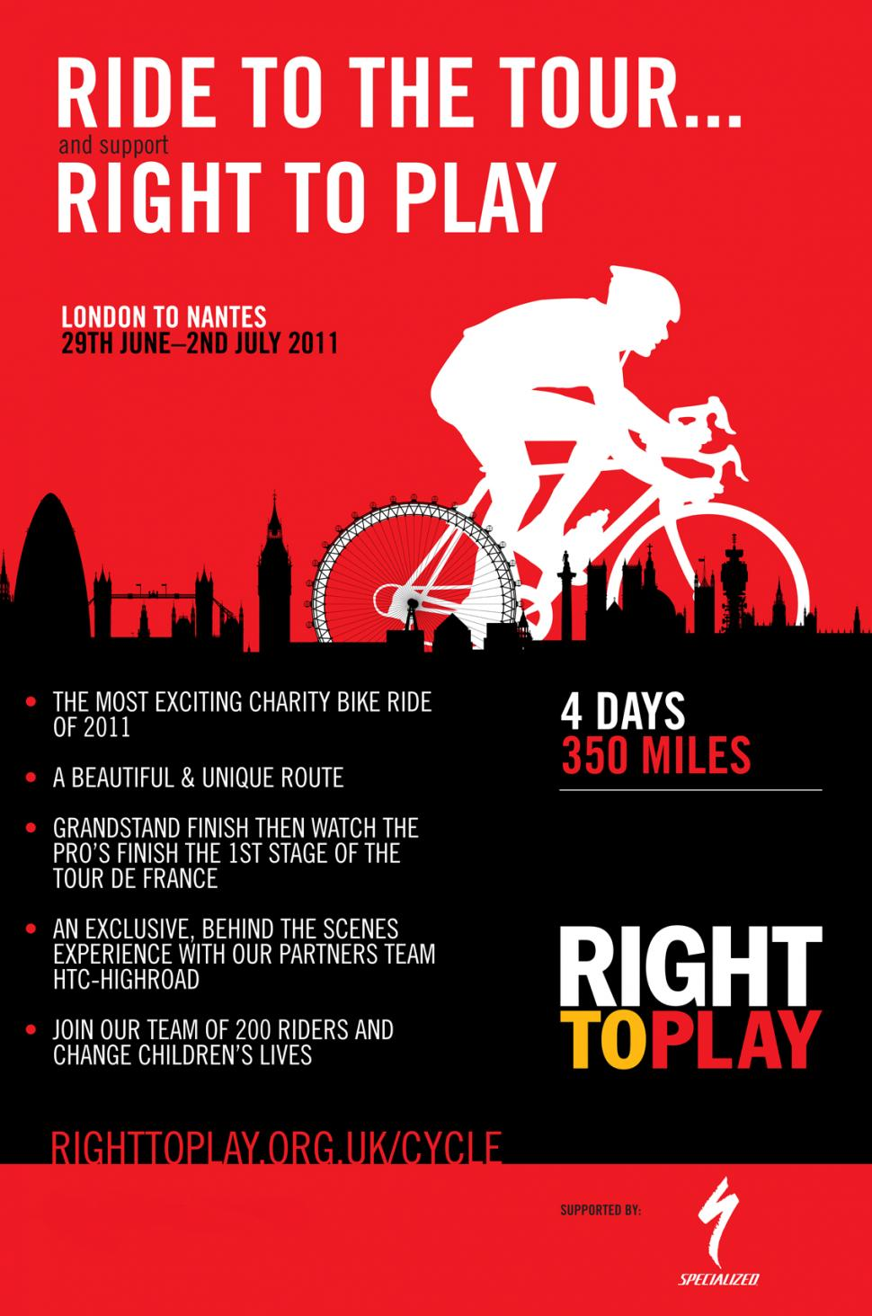 Right To Play Ride to the Tour with Specialized.png