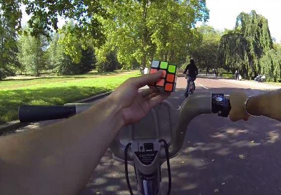 Rubik's Cube and Boris Bike YouTube still
