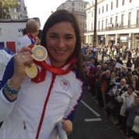 Sarah Storey medal - credit Team Storey Sport