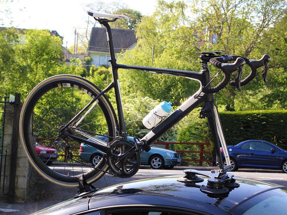 Seasucker Talon Bike Rack - on car