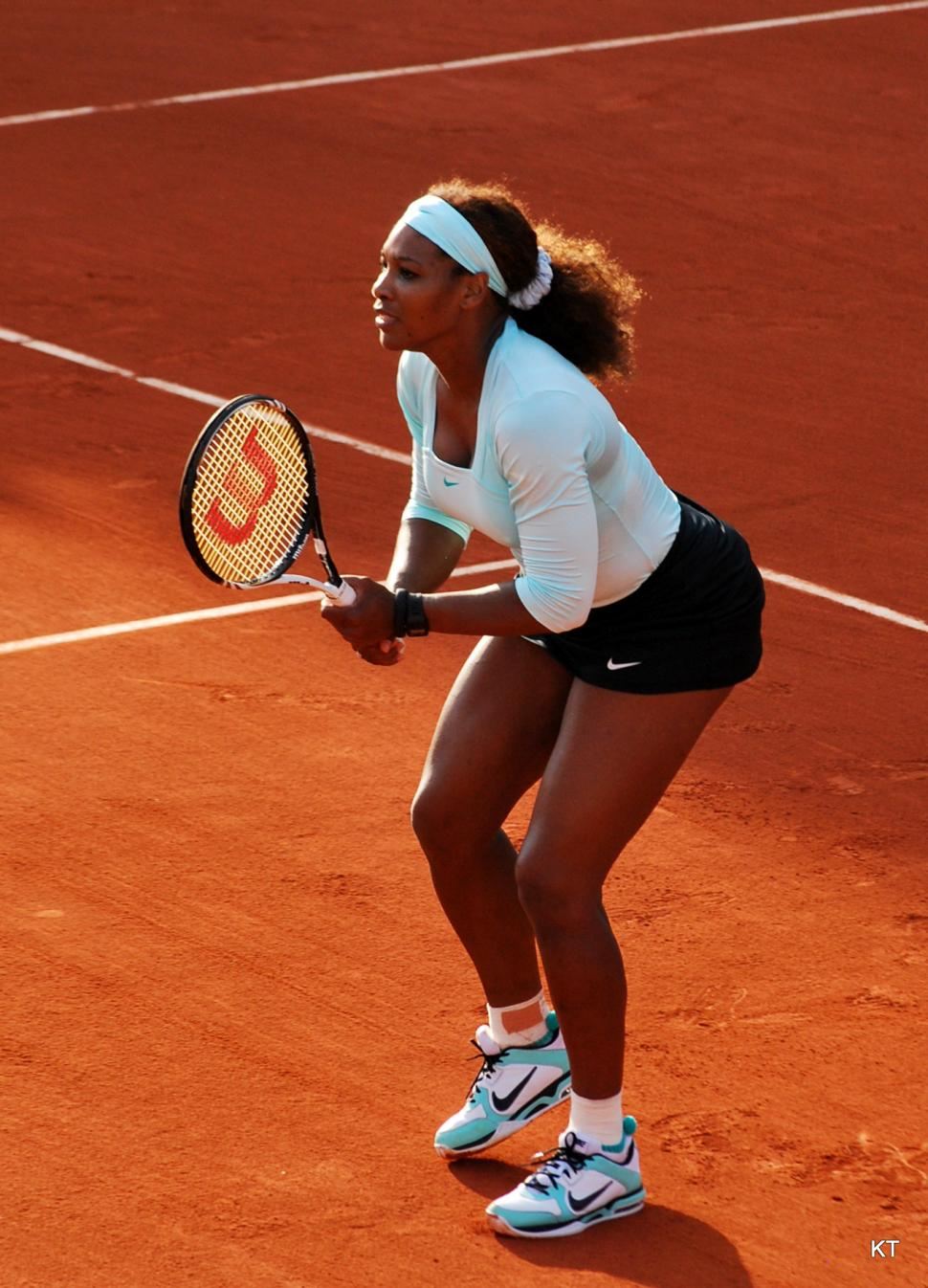 Serena Williams (picture Carin 06, Flickr - Creative Commons cc-by-sa-2.0)