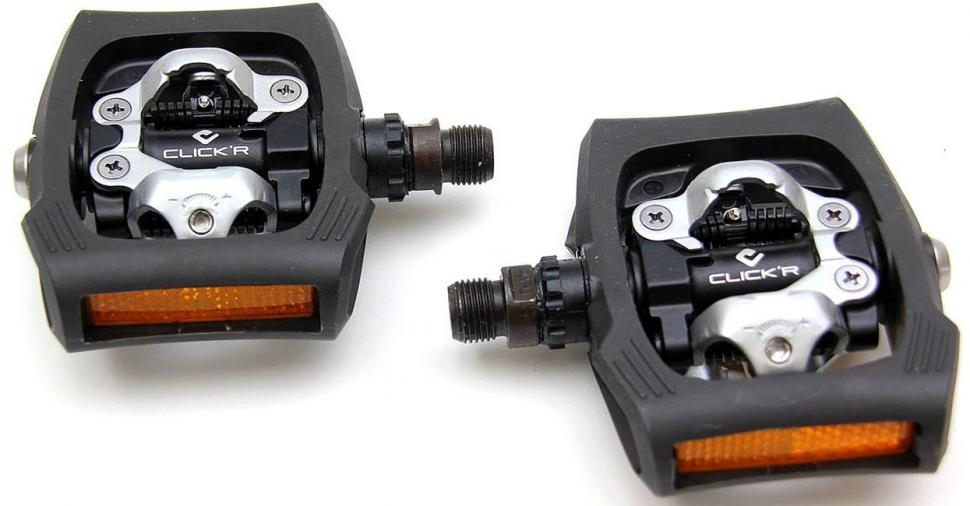 Shimano Click'R pedals PD-T400
